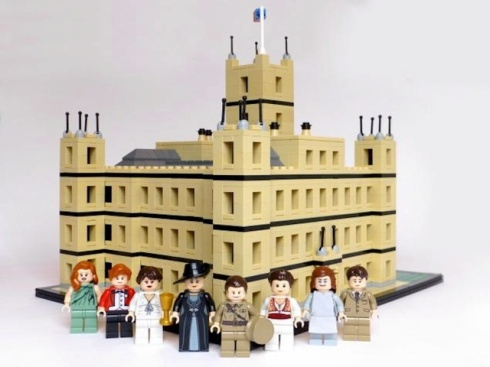 DowntonAbbeyLegos